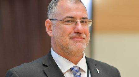 Vasileios Gkolfinopoulos elected ECU President