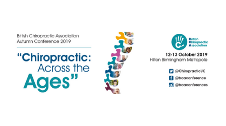 British Chiropractic Association Autumn Conference 2019