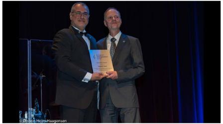 ECU Honour Award presented to Haymo Thiel